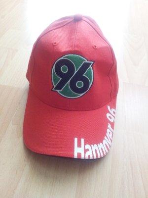 Cap Schrimmütze Hannover 96 rot Diadora NEU