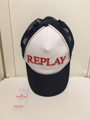 Cap von Replay in dunkelblau/weiß/rot