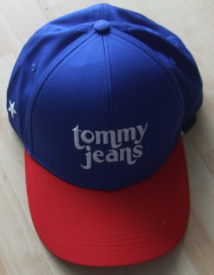 Tommy Hilfiger Baseball Cap red-blue polyester