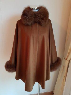 Cape brown cashmere