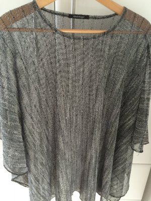 Cape grau/schwarz transparent Größe 44/46