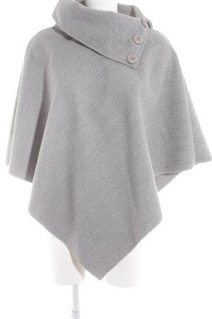 Cape gris clair style décontracté