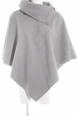 Cape light grey casual look