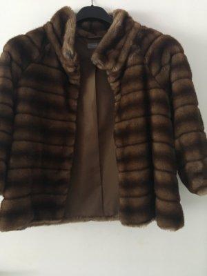 Hallhuber Cape light brown-dark brown