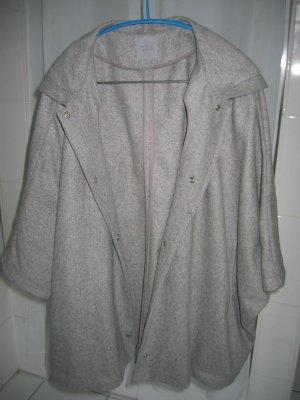 COS Manteau à capuche gris clair