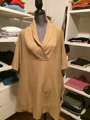 Cape Poncho beige One Size