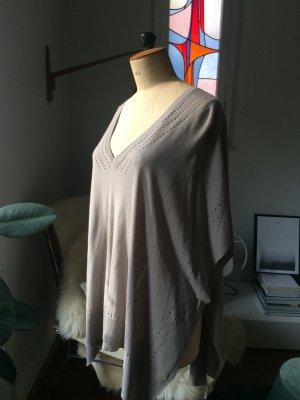 Delicate Love Kimono sweater lichtgrijs-grijs-bruin