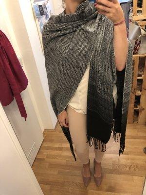 Hallhuber Mantella nero-grigio