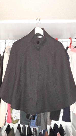 Cape schwarz H&M Größe 36