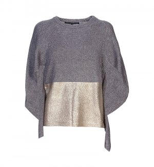 CAPE-STYLE SWEATER wool super beautiful