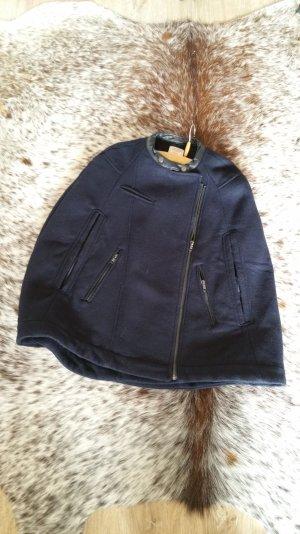 cape von Bershka Wool Jacket