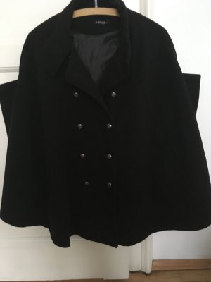 Heavy Pea Coat black