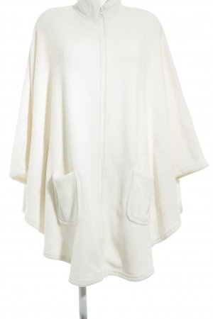 Cape natural white casual look