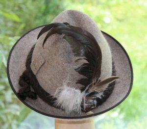 Chapeau de chasse multicolore