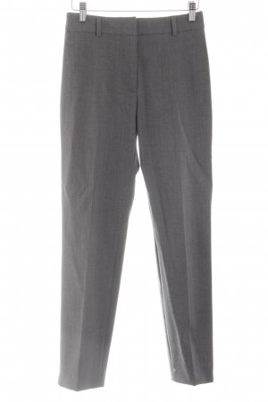 Cappellini Suit Trouser silver-colored-light grey flecked business style