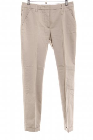 Cappellini Bundfaltenhose beige Business-Look