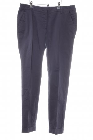 Cappellini Chinohose dunkelblau Business-Look