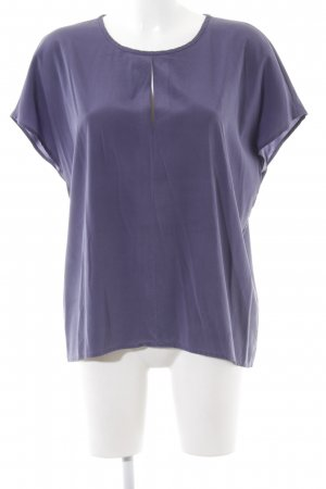 Cappellini Silk Blouse lilac casual look