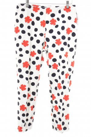 Cappellini Stoffhose florales Muster Street-Fashion-Look