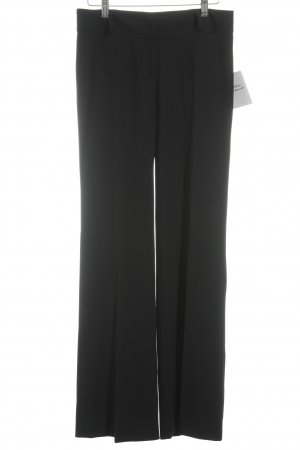 Cappellini Stoffhose schwarz Business-Look