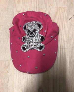 Cap raspberry-red