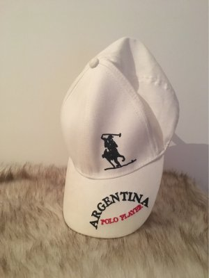 Polo Baseball Cap black-white