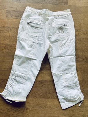 Masters Pantalone Capri bianco