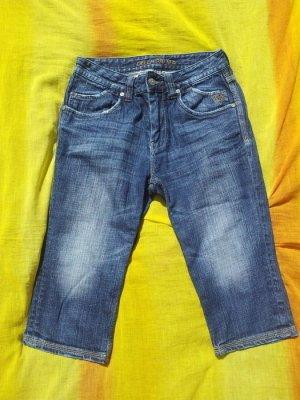 Capri Hose Jeans Della Palma blau Gr. 36