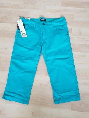 Pantalón capri azul cadete