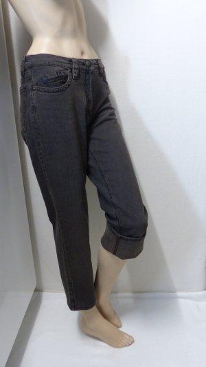 Zerres Jeans a 7/8 marrone scuro-marrone Tessuto misto