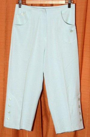 Pantalón capri verde claro