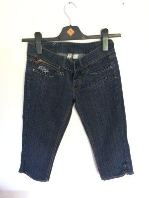 Capri Jeans mit Stretchanteil