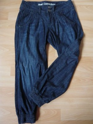 Capri-Pump-Jeans, Marke: B. C. Best Connections, Gr. 17, blue denim, neuwertig