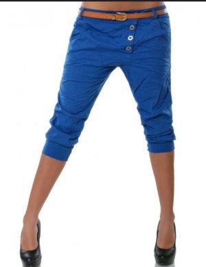 Pantalón capri azul