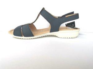 Caprice Outdoor Sandals dark blue leather
