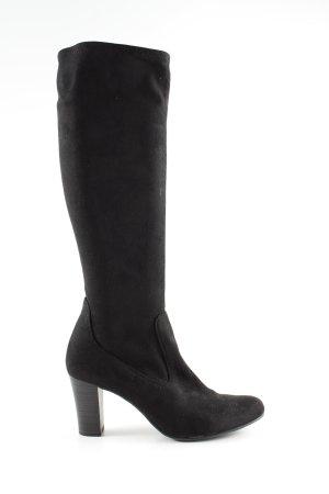 Caprice Absatz Stiefel schwarz Elegant