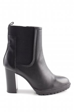 Caprice Heel Boots black business style