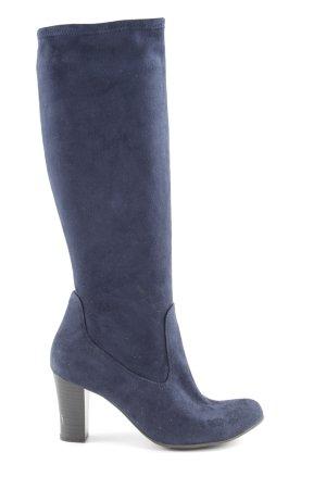 Caprice Absatz Stiefel blau extravaganter Stil