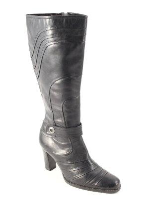 Caprice Absatz Stiefel schwarz klassischer Stil