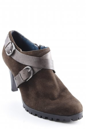 Caprice Low boot brun noir style décontracté