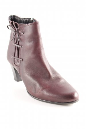 Caprice Booties bordeauxrot Casual-Look