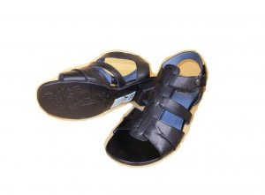 Caprice Damen Sandale Leder Schuhe schwarz Gr.39 Neu