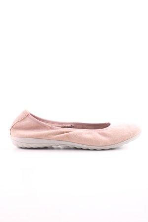 Caprice faltbare Ballerinas creme Casual-Look
