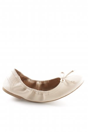Caprice Foldable Ballet Flats cream casual look