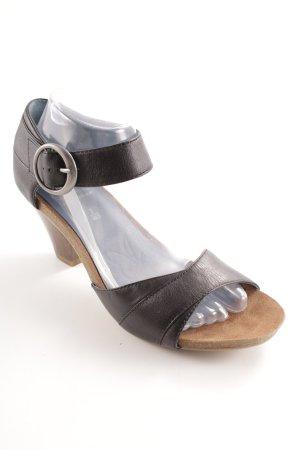 Caprice High Heel Sandal black casual look