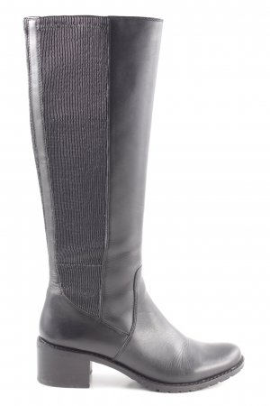 Caprice High Heel Stiefel schwarz Business-Look