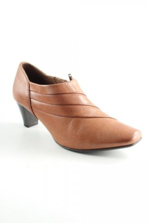 Caprice Hochfront-Pumps braun Country-Look