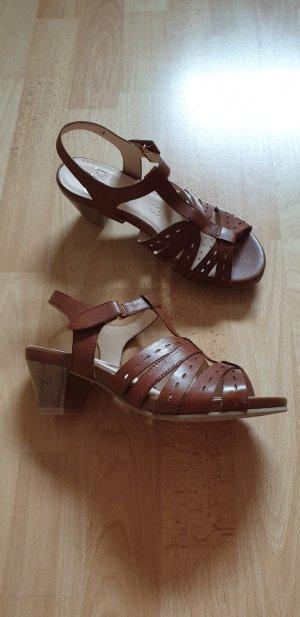 Caprice Comfort Sandals brown