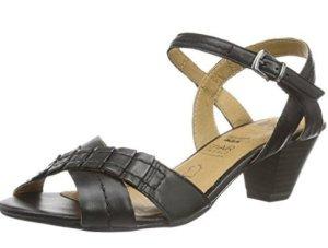 Caprice Leder Sandalen Sandaletten schwarz 40 (NEU)