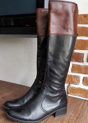 Caprice Lederstiefel, schmaler Schaft (passend auch bei  einer 39,5 Größe)